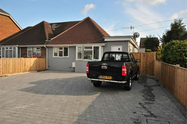 Thumbnail Semi-detached bungalow for sale in Turkey Road, Bexhill-On-Sea, East Sussex