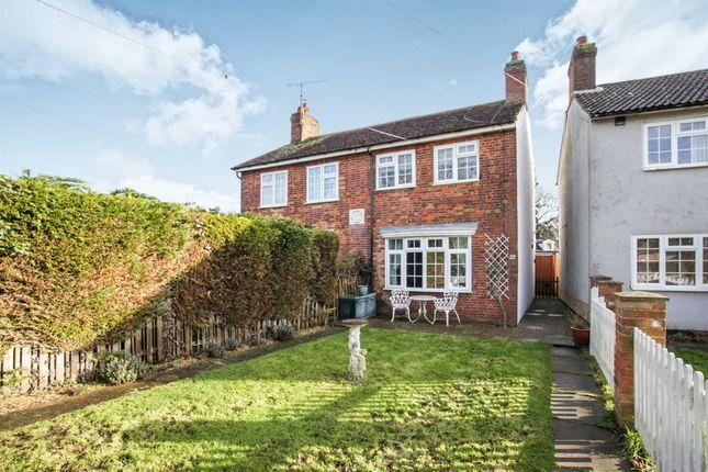 Thumbnail Semi-detached house for sale in Mangrove Green, Cockernhoe, Luton