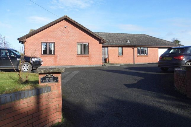 Thumbnail Bungalow to rent in Nash Hill View, Marden, Herefordshire