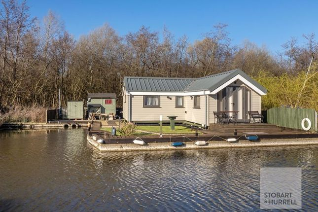 Thumbnail Detached bungalow for sale in The Cabin, Crabbetts Marsh, Horning, Norfolk