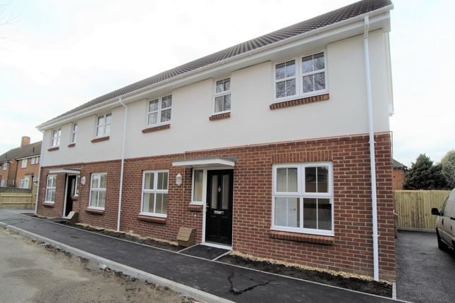 Thumbnail Semi-detached house for sale in Tensing Road, Christchurch, Dorset