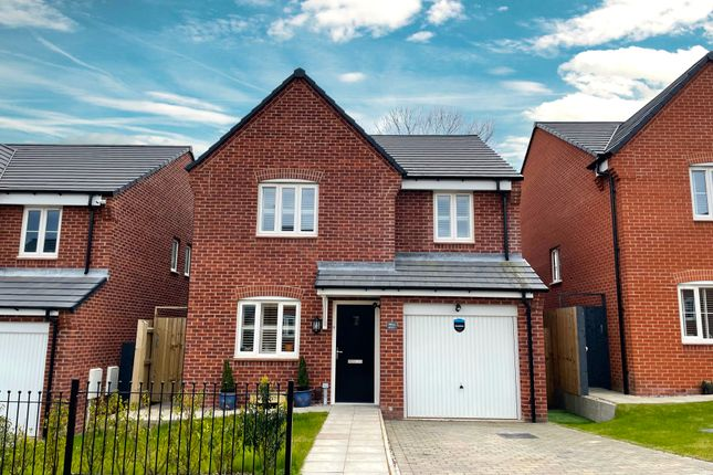Thumbnail Detached house for sale in Mill Farm Drive, Tibshelf