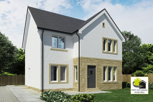 Thumbnail Detached house for sale in Holmhead Gardens, Hospital Road, Cumnock, East Ayrshire