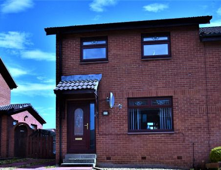 Thumbnail Semi-detached house for sale in Argyll Place, Bellshill
