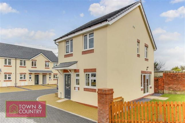 Thumbnail Detached house for sale in St Marks Mews, Church Hill, Connah's Quay, Flintshire
