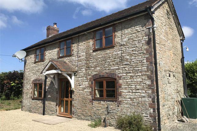 Thumbnail Detached house to rent in Twitchen, Clunbury, Craven Arms, Shropshire