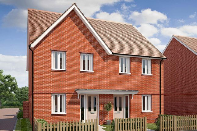 "Thumbnail Semi-detached house for sale in ""The Chester"" at Saunders Way, Basingstoke"