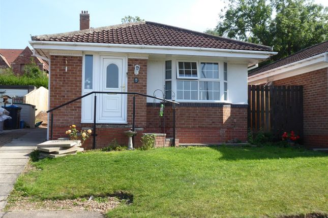 Thumbnail Detached bungalow for sale in Fernwood Close, Brompton, Northallerton