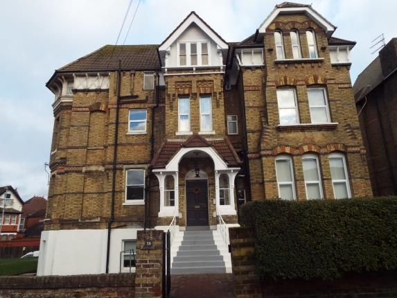 Thumbnail Flat for sale in Manor Court, 38 Manor Road, Folkestone, Kent