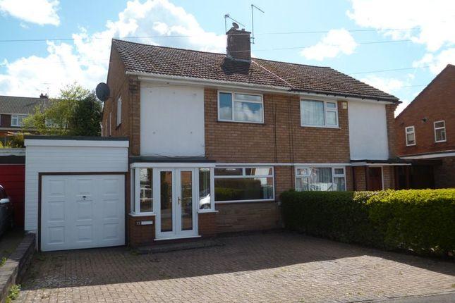 Thumbnail Semi-detached house to rent in Farmdown Road, Baswich, Stafford