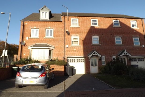 Thumbnail End terrace house to rent in Durham Way, Parkgate, Rotherham