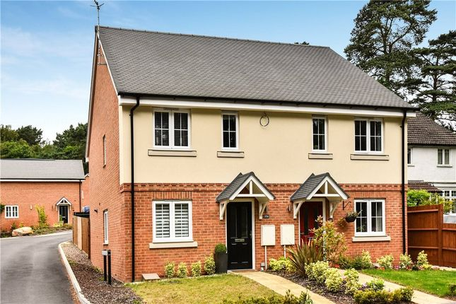 Thumbnail Semi-detached house for sale in Deepcut Bridge Road, Deepcut, Camberley