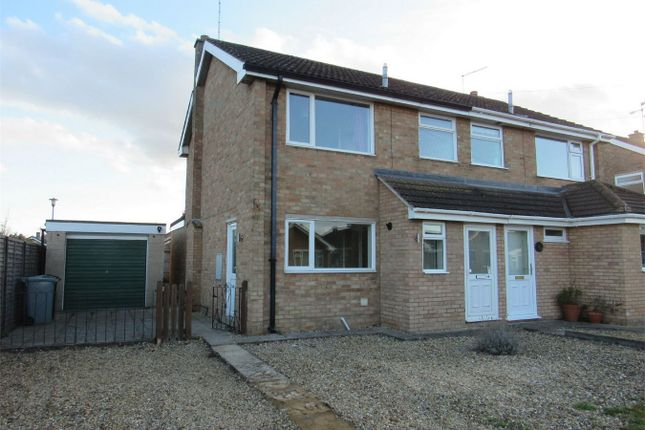 Thumbnail Semi-detached house to rent in Godiva Crescent, Bourne, Lincolnshire