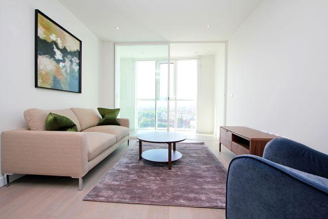 1 bed flat to rent in Sky Gardens, Wandsworth Road, Nine Elms SW8, London,