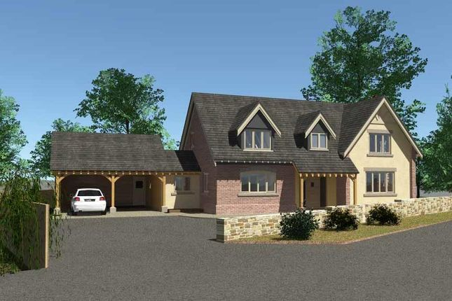 Thumbnail Detached house for sale in New House, Hall Bank, Pontesbury