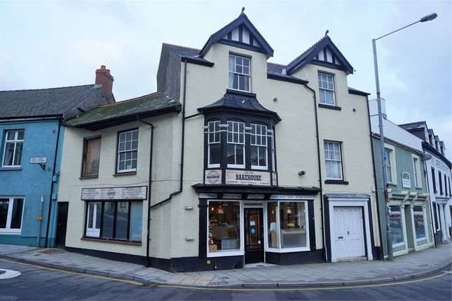 Thumbnail Terraced house for sale in Corner Cafe, Market Square, Fishguard, Pembrokeshire