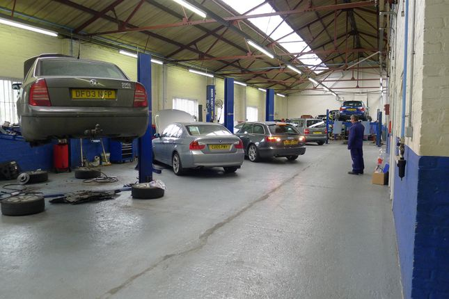 Thumbnail Commercial property for sale in Well-Established Car Garage And Repair Centre ST13, Staffordshire