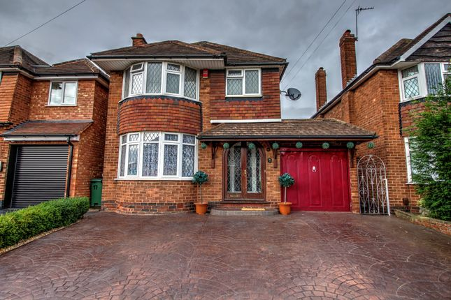 Thumbnail Detached house for sale in Lodge Road, Pelsall, Walsall