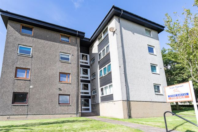 Thumbnail 1 bed flat for sale in Greendykes Road, Dundee