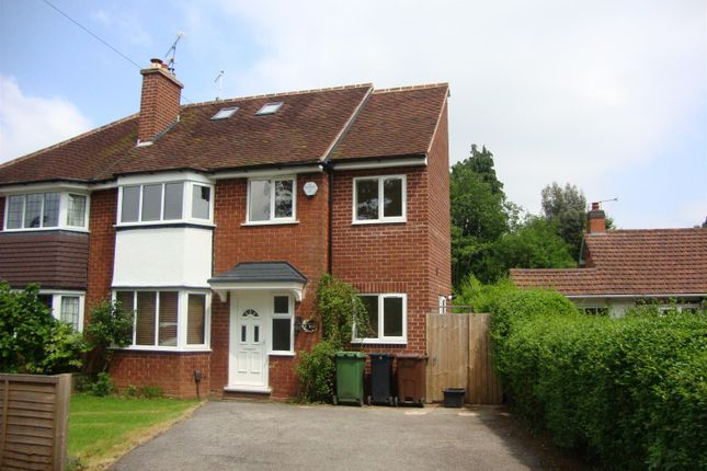 4 bed semi-detached house to rent in Widney Road, Bentley Heath, Solihull, West Midlands B93