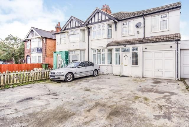 Thumbnail Semi-detached house for sale in Narborough Road South, Braunstone Town, Leicester, Leicestershire