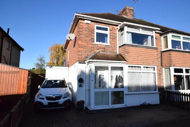 Thumbnail Semi-detached house for sale in Field Lane, Alvaston, Derby