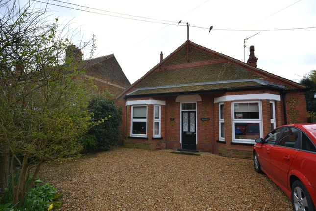 Thumbnail Detached bungalow for sale in Station Road, Snettisham, King's Lynn