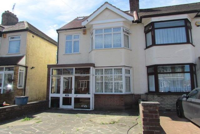Thumbnail End terrace house for sale in Percival Gardens, Chadwell Heath, Romford