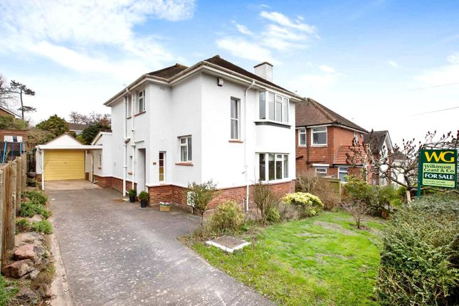 Thumbnail Detached house for sale in Rosebank Crescent, Exeter