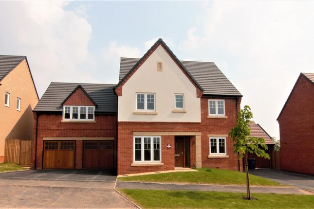 Thumbnail Detached house for sale in Knightley Road, Gnosall, Stafford