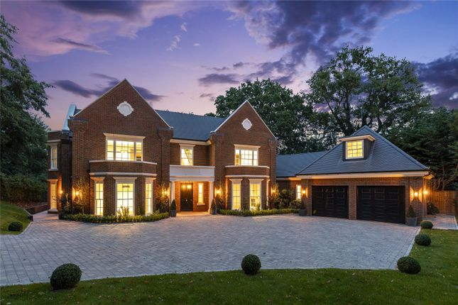 Thumbnail Detached house for sale in The Spinney, Queens Drive, Oxshott