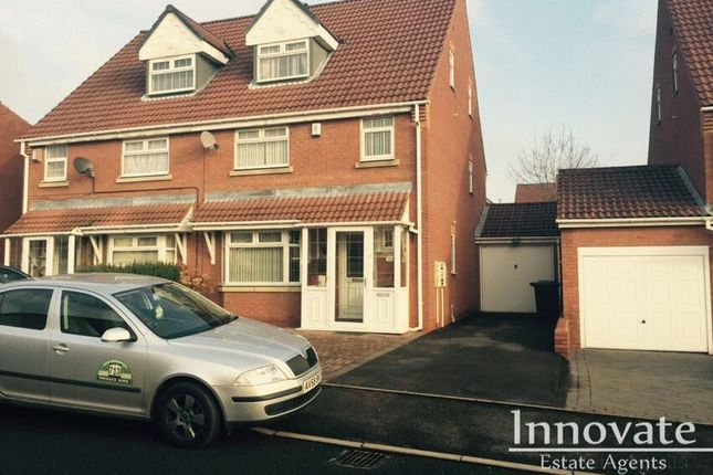 Thumbnail Semi-detached house for sale in Jackson Drive, Smethwick