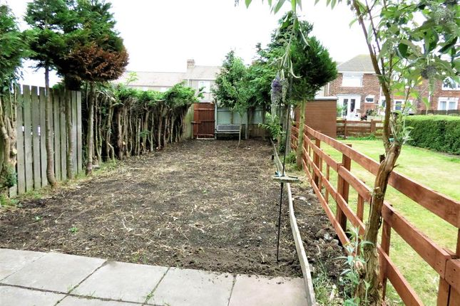 Rear Gardens of Dene Avenue, Easington, County Durham SR8
