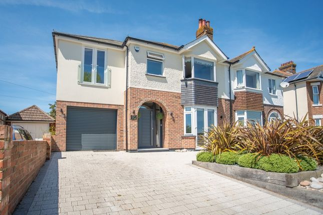 Thumbnail Semi-detached house for sale in Park Lake Road, Poole, Dorset