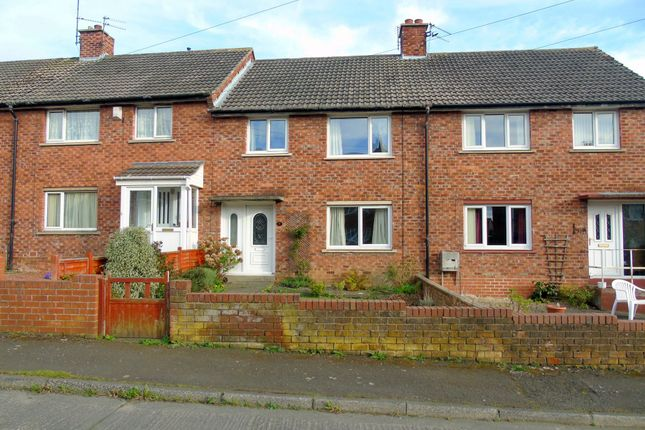 Thumbnail Terraced house to rent in Abbots Way, Morpeth