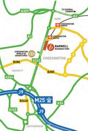 Photo 3 of Unit E, Barwell Business Park, Leatherhead Road, Chessington, Surrey KT9