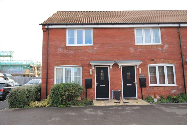 Thumbnail End terrace house for sale in Willan Place, West Wick, Weston-Super-Mare