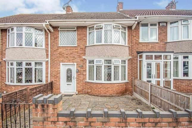 Terraced house for sale in Tiverton Road, Coventry, West Midlands