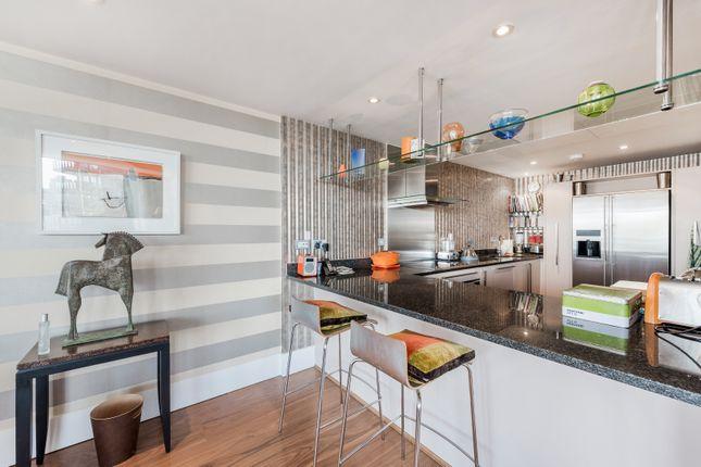 Kitchen of Kingfisher House, Battersea Reach, London SW18