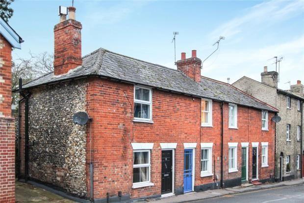 Thumbnail End terrace house for sale in Debden Road, Saffron Walden, Essex