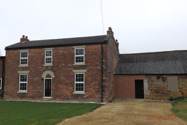 Thumbnail Farmhouse to rent in Pontefract Road, Purston Jaglin, Pontefract