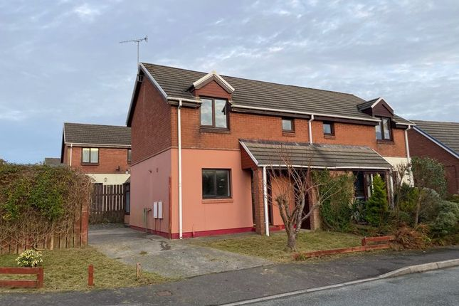 2 bed semi-detached house to rent in Maes Awel, Dwrbach, Fishguard SA65