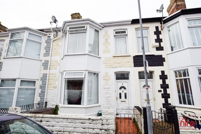 Thumbnail Terraced house for sale in Regent Street, Barry