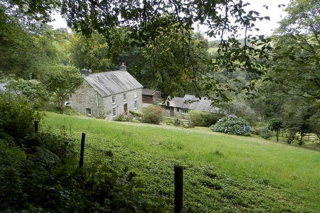 Thumbnail Detached house for sale in Unmarked Road, Bwlchygroes, Nr Ffostrasol, Ceredigion