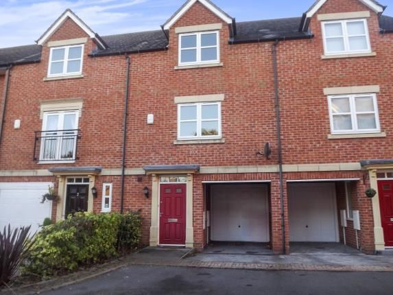 Thumbnail Town house for sale in New Orchard Place, Mickleover, Derby, Derbyshire