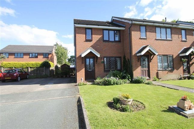 Thumbnail End terrace house to rent in The Maitlands, Dorrington, Shrewsbury