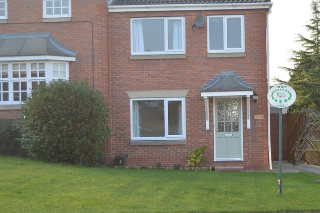 Thumbnail Semi-detached house to rent in Hollin Drive, Durkar, Wakefield
