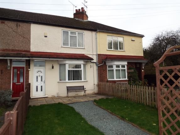 Thumbnail Terraced house for sale in Knight Avenue, Coventry, West Midlands
