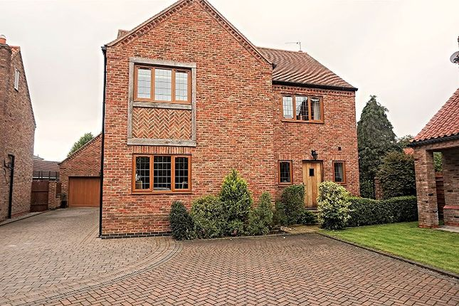 Thumbnail Detached house for sale in The Moat, Hedon, Hull