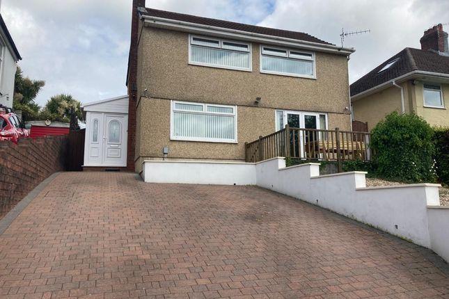 Thumbnail Detached house for sale in Birchgrove Road, Birchgrove, Swansea